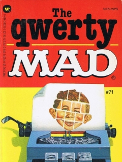 Go to The Qwerty Mad #71 • USA • 1st Edition - New York