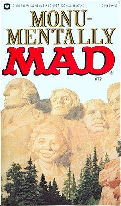 Monu-Mentally Mad #72 • USA • 1st Edition - New York