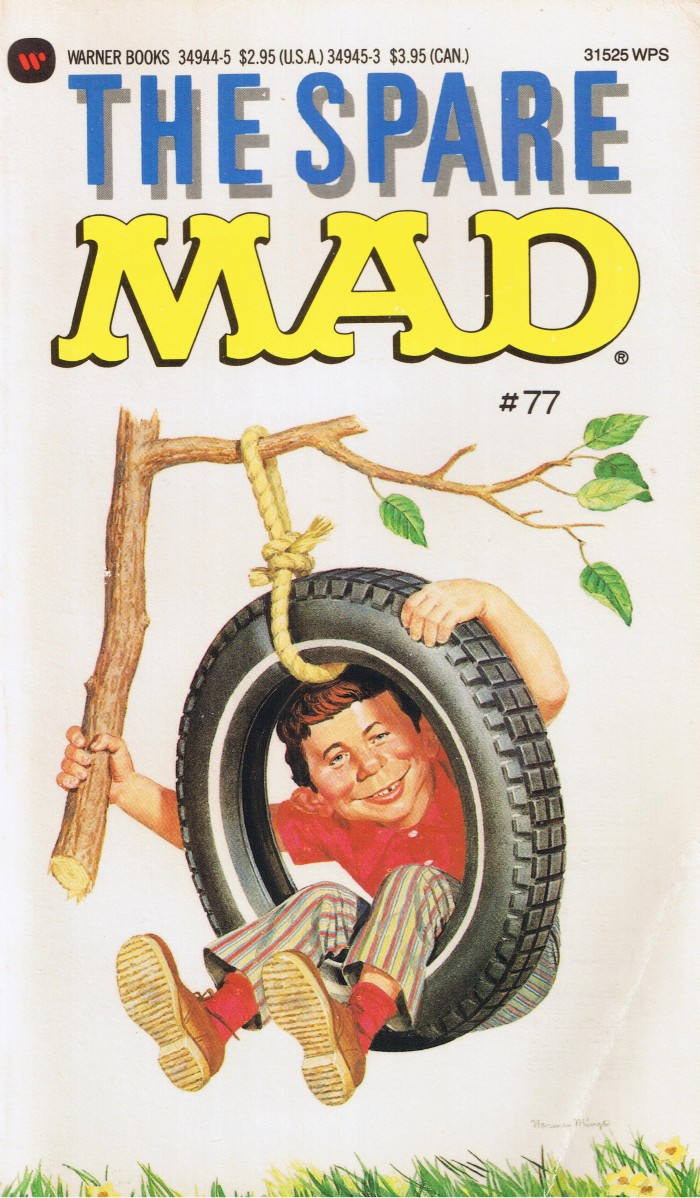 The Spare Mad #77 • USA • 1st Edition - New York
