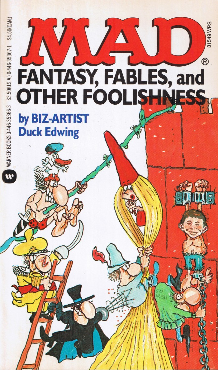 Don Edwing: Mad Fantasy, Fables, and Other Foolishness • USA • 1st Edition - New York