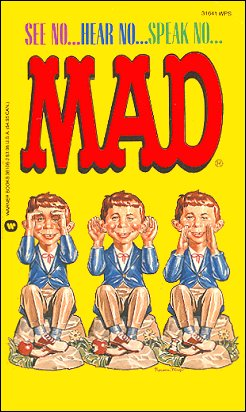 See No ... Hear No ... Speak No ... Mad #86 • USA • 1st Edition - New York
