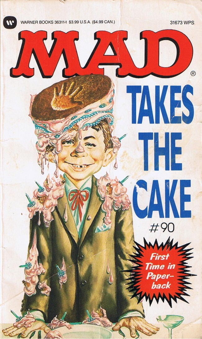 Mad Takes The Cake #90 • USA • 1st Edition - New York