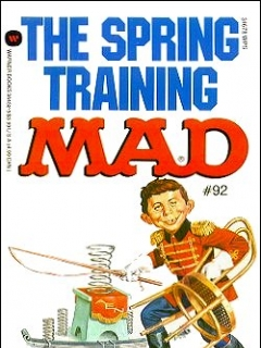 Go to The Spring Training Mad #92 • USA • 1st Edition - New York