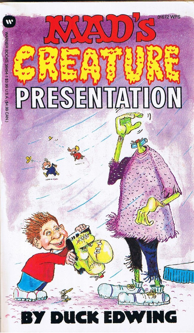 Don Edwing: Mad's Creature Presentation • USA • 1st Edition - New York