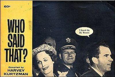 Who Said That? • USA • 1st Edition - New York