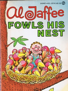 Go to Al Jaffee Fowls His Nest