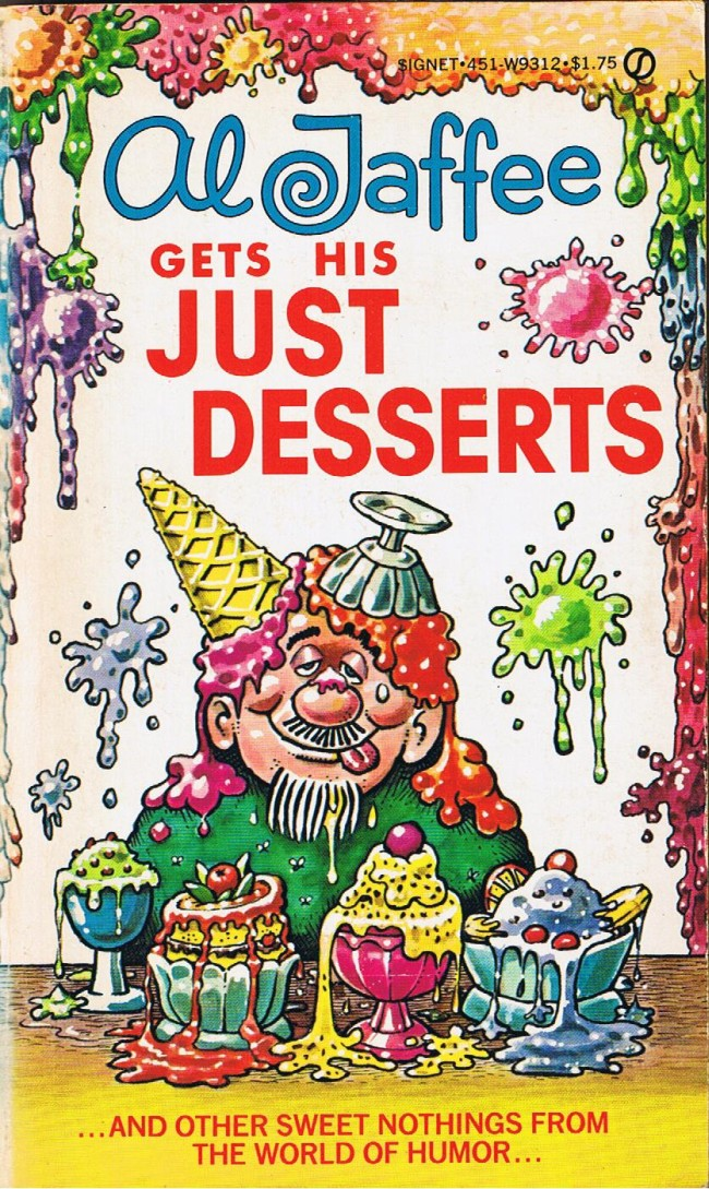 Al Jaffee gets his Just Desserts • USA