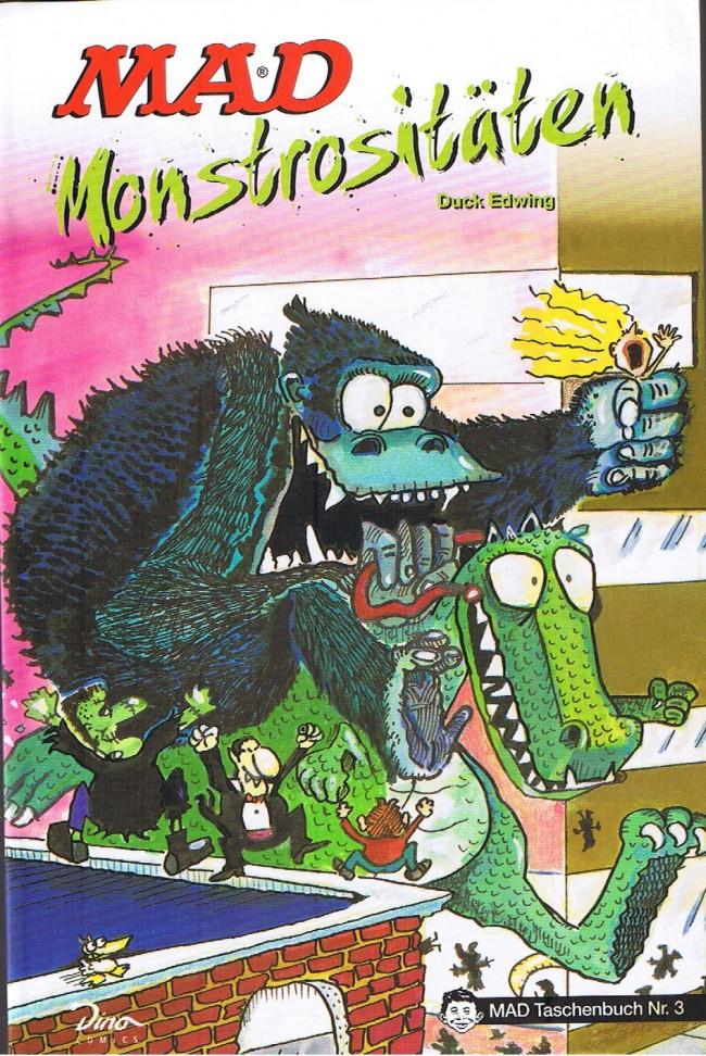 MAD Monstrositäten #3 • Germany • 2nd Edition - Dino/Panini