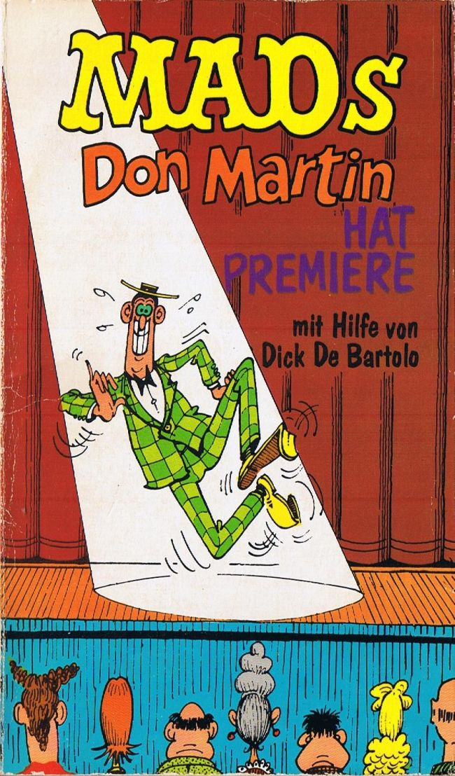 Don Martin hat Premiere #1 • Germany • 1st Edition - Williams