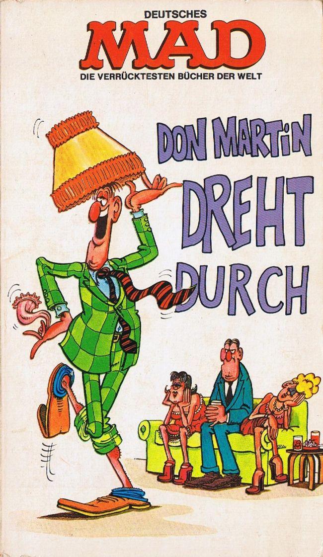 Don Martin dreht durch #4 • Germany • 1st Edition - Williams