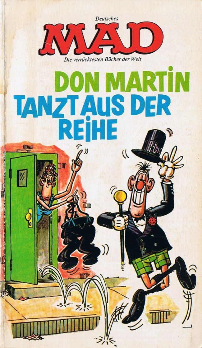 Don Martin tanzt aus der Reihe #11 • Germany • 1st Edition - Williams