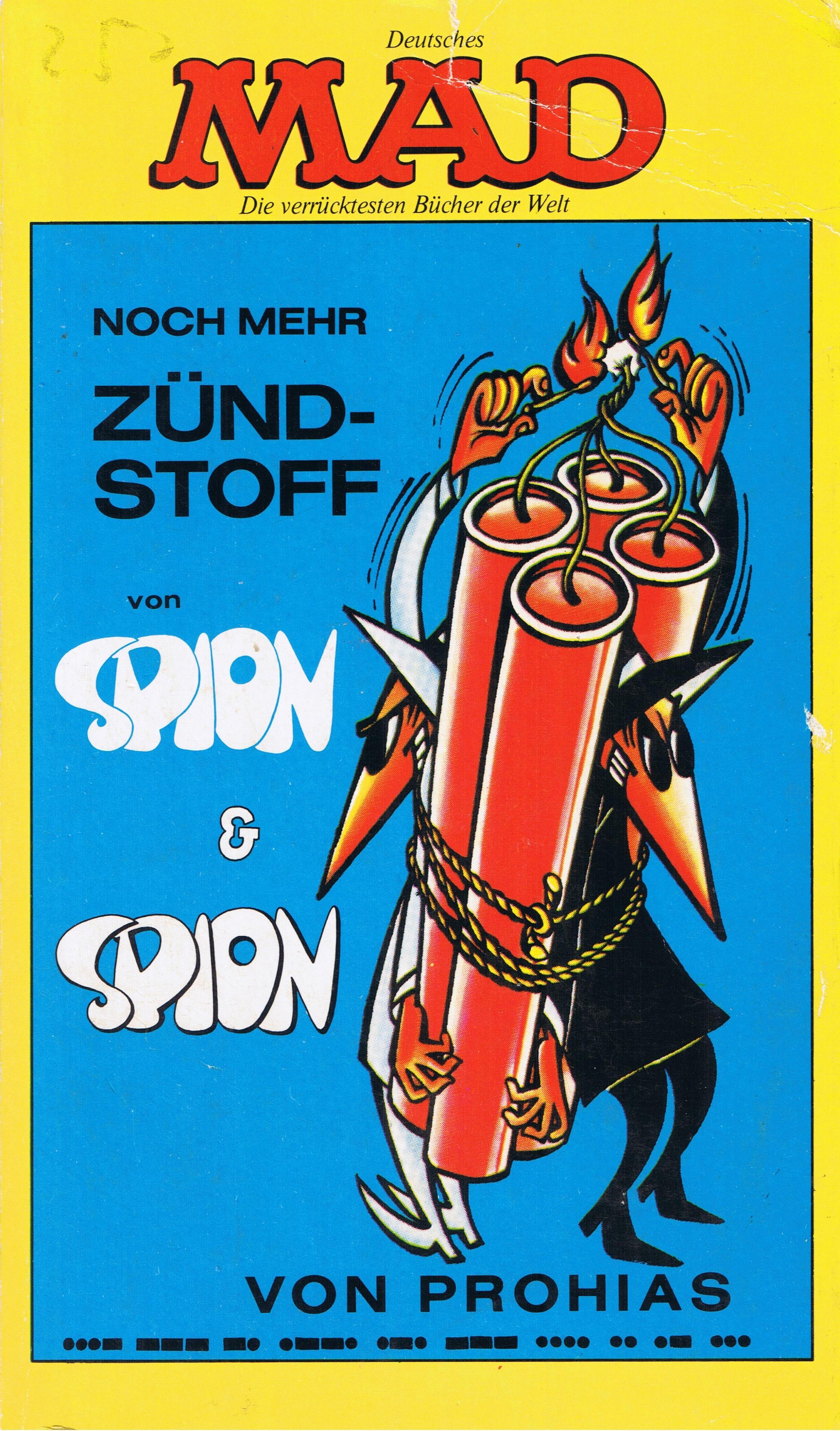 Noch mehr Zündstoff von Spion & Spion #13 • Germany • 1st Edition - Williams