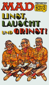 MAD-Reporter Dave Berg Linst, Lauscht und Grinst! #33 • Germany • 1st Edition - Williams