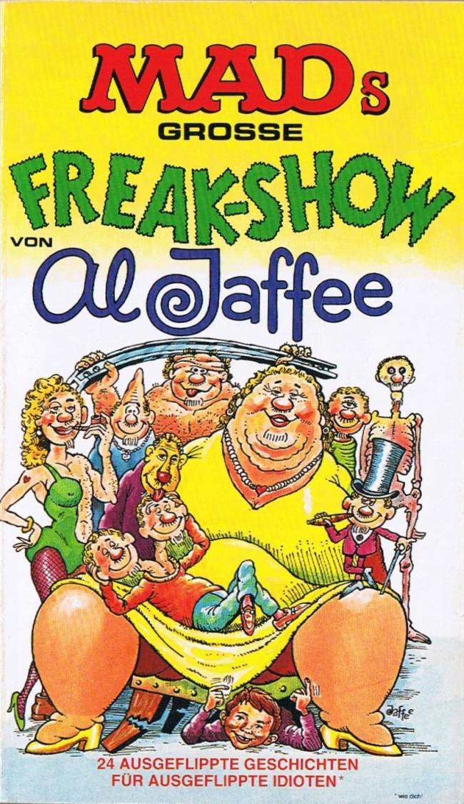 MADs große Freak-Show #48 • Germany • 1st Edition - Williams