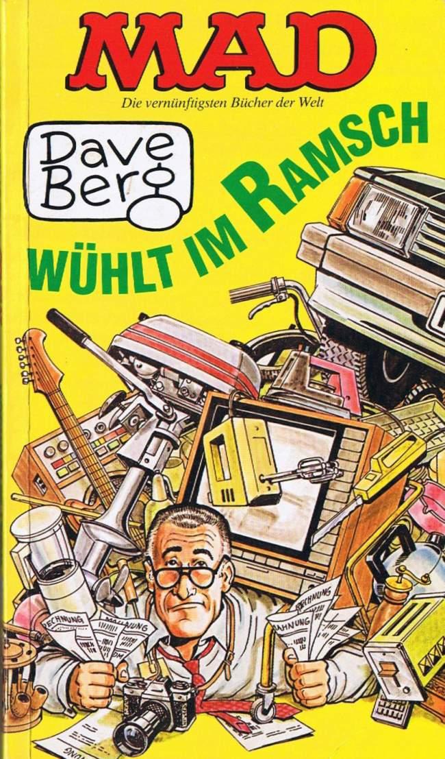 Dave Berg wühlt im Ramsch #51 • Germany • 1st Edition - Williams