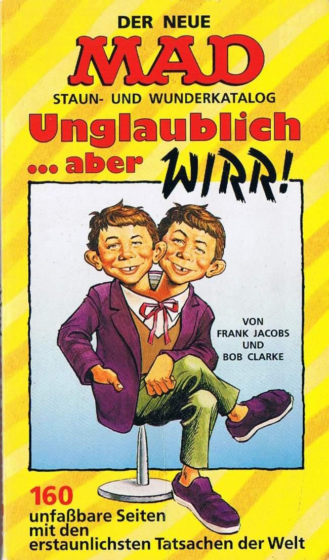 Unglaublich...aber WIRR! #59 • Germany • 1st Edition - Williams