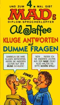 Kluge Antworten auf dumme Fragen (IV) #61 • Germany • 1st Edition - Williams
