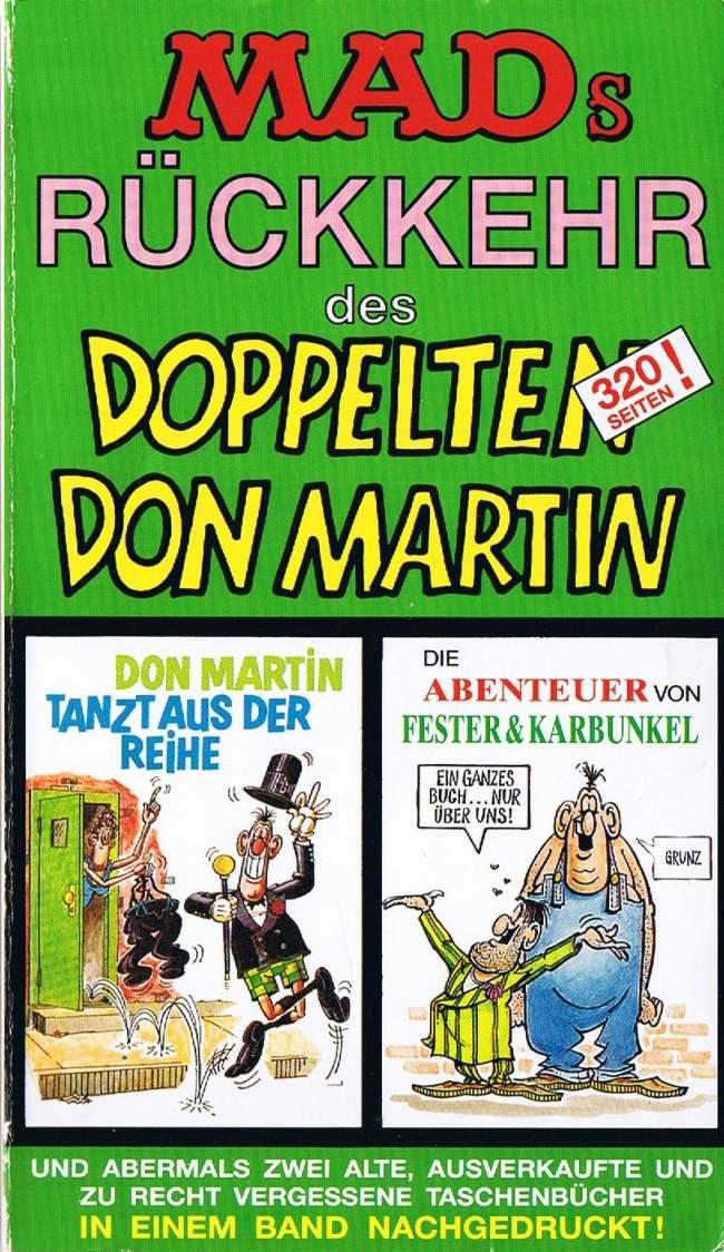 MADs Rückkehr des Doppelten Don Martin #62 • Germany • 1st Edition - Williams