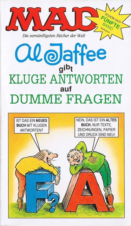 Kluge Antworten auf dumme Fragen (V) #71 • Germany • 1st Edition - Williams