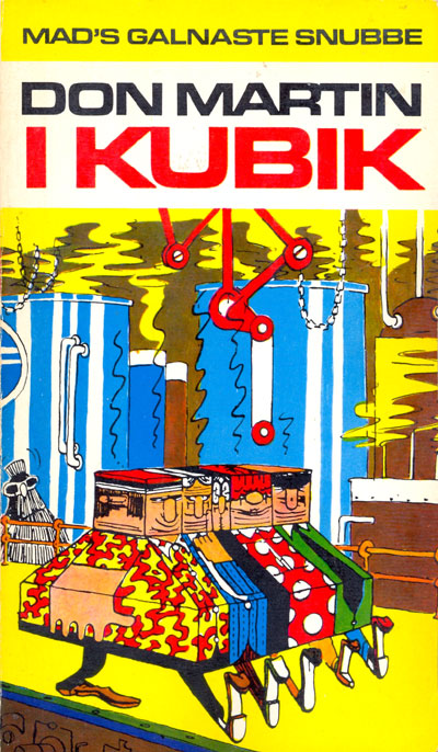 Don Martin i kubik #21 • Sweden