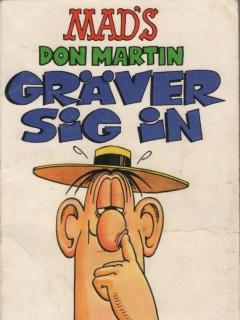 Don Martin gräver in sig #58 • Sweden