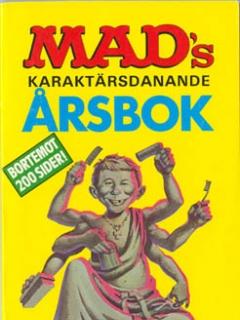 Go to MADs karaktärsdanande årsbok 1987 #88 • Sweden