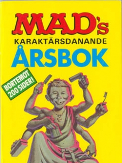 MADs karaktärsdanande årsbok 1987 #88 • Sweden