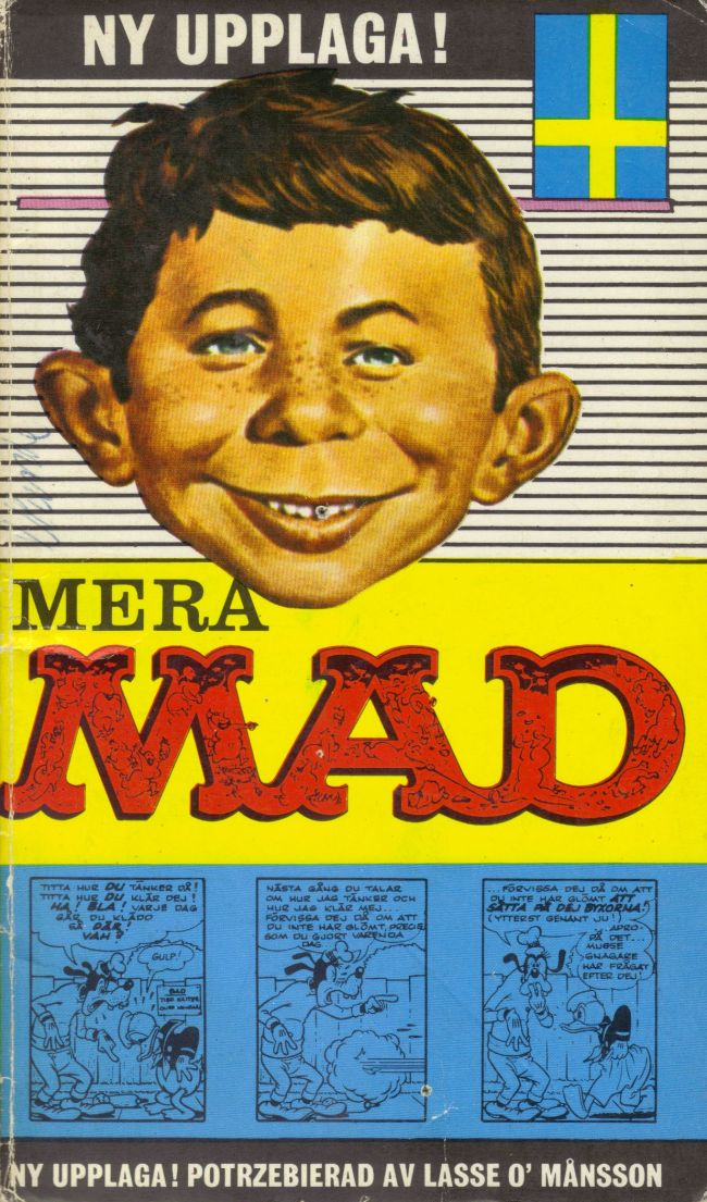 2:a upplagan: Mera MAD • Sweden