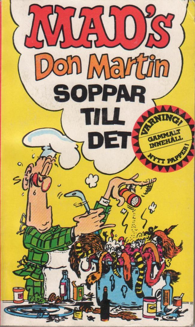 Don Martin soppar till det 2:a upplagan #24 • Sweden