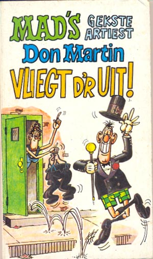 Don Martin vliegt dr uit #2 • Netherlands • 1st Edition