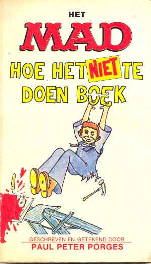 Het MAD hoe het niet doen boek #12 • Netherlands • 1st Edition