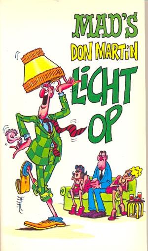 MADs Don Martin licht op #18 • Netherlands • 1st Edition
