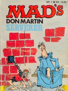 Go to MADs Don Martin serverer #1 • Denmark • 2nd Edition - Semic