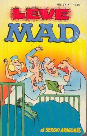 Leve MAD #2 • Denmark • 2nd Edition - Semic
