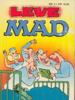 Go to Leve MAD #2 • Denmark • 2nd Edition - Semic