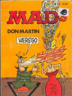 Go to MADs Don Martin vaers go #3 • Denmark • 2nd Edition - Semic
