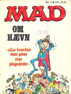 Go to MAD om haevn #4 • Denmark • 2nd Edition - Semic