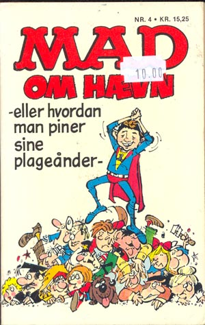 MAD oem haevn (2nd printing) #4 • Denmark • 2nd Edition - Semic