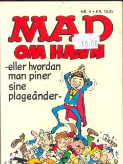 Go to MAD oem haevn (2nd printing) #4 • Denmark • 2nd Edition - Semic