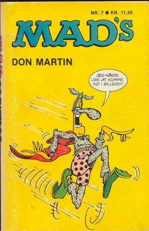 MADs Don Martin fortsaetter #7 • Denmark • 2nd Edition - Semic