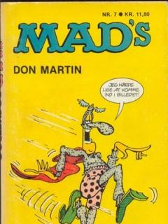 Go to MADs Don Martin fortsaetter #7 • Denmark • 2nd Edition - Semic