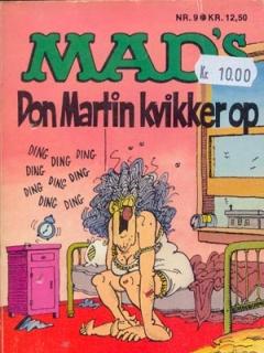 Go to MADs Don Martin kvikker op #9 • Denmark • 2nd Edition - Semic