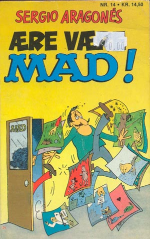 Aere vaere MAD! #14 • Denmark • 2nd Edition - Semic