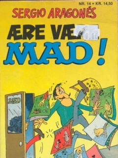 Go to Aere vaere MAD! #14 • Denmark • 2nd Edition - Semic