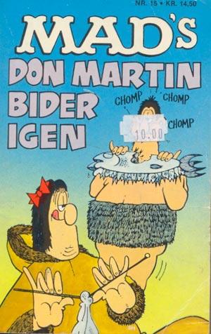 MADs Don Martin bider igen #15 • Denmark • 2nd Edition - Semic