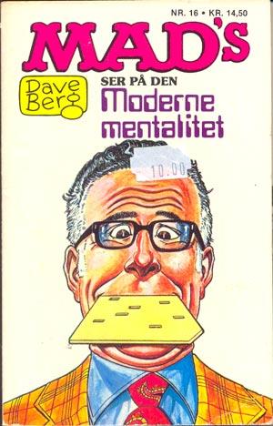 Dave Berg ser pa den Moderne mentalitet #16 • Denmark • 2nd Edition - Semic
