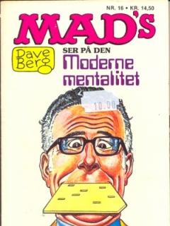 Go to Dave Berg ser pa den Moderne mentalitet #16 • Denmark • 2nd Edition - Semic