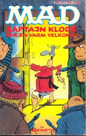 Kaptajn Klods far en varm velkomst #17 • Denmark • 2nd Edition - Semic