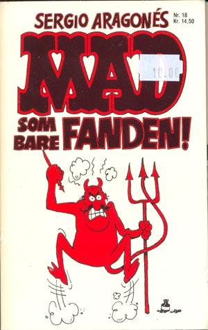 MAD som bare fandem! #18 • Denmark • 2nd Edition - Semic