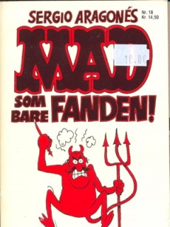 Go to MAD som bare fandem! #18 • Denmark • 2nd Edition - Semic